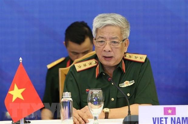Terus memperdalam kerjasama pertahanan antara Vietnam dan Uni Eropa - ảnh 1