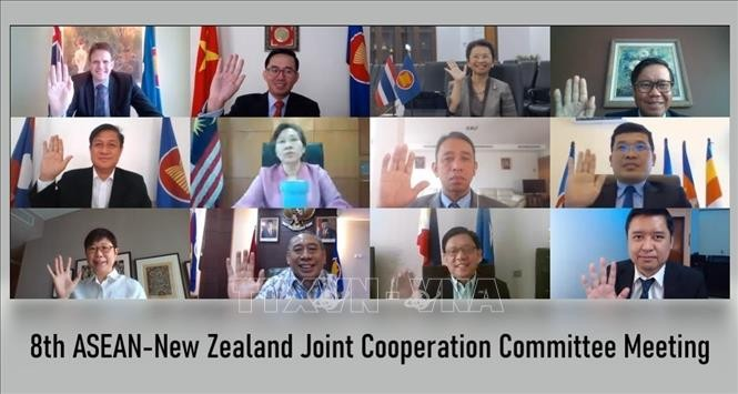 ASEAN dan Selandia Baru berkomitmen untuk memperkuat hubungan kemitraan strategis - ảnh 1