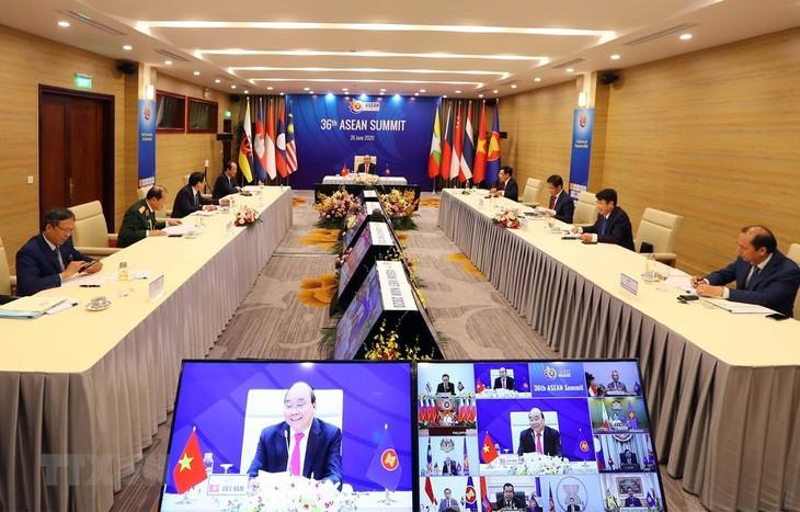 Media Eropa memberikan perhatian yang besar kepada KTT ke-36 ASEAN - ảnh 1