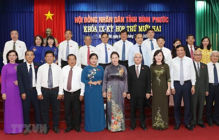 Provinsi Binh Phuoc menguasai peluang dan mengembangkan keunggulan untuk berkembang - ảnh 1