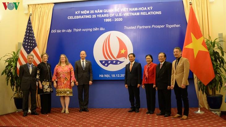 Peringatan ultah ke-25 penggalangan hubungan diplomatik Vietnam-AS - ảnh 1