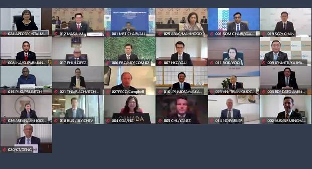 APEC menegaskan prioritasnya untuk memulihkan perekonomian yang terkena dampak akibat wabah COVID-19 - ảnh 1