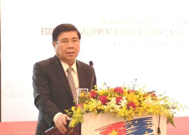 Kota Ho Chi Minh mengatasi kesulitan yang dihadapi badan usaha sebelum EVFTA berlaku - ảnh 1