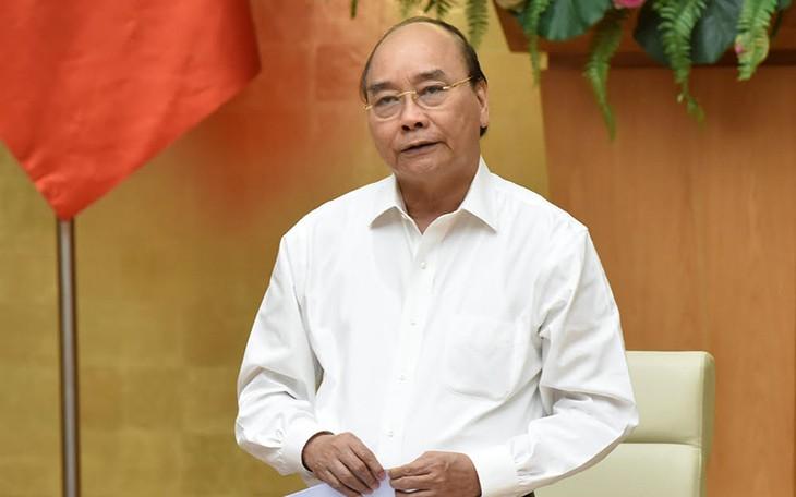 PM Nguyen Xuan Phuc melakukan rapat kerja dengan pemimpin Provinsi Phu Tho - ảnh 1