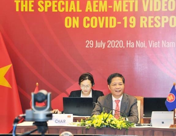 ASEAN 2020: Mengesahkan rencana aksi pemulihan ekonomi ASEAN-Jepang - ảnh 1