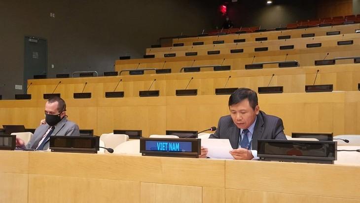 Vietnam dan DK PBB membahas situasi politik yang bergejolak di Guinea-Bissau - ảnh 1