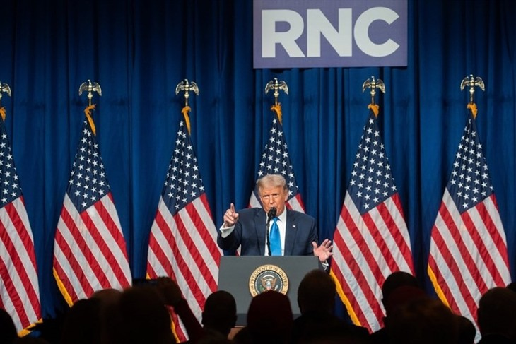 Partai Republik resmi menominasikan Donald Trump dalam pilpres AS - ảnh 1