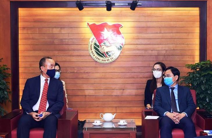 Pengurus  Besar Liga Pemuda Komunis Ho Chi Minh Tingkatkan Kerja Sama dengan Organisasi Kesehatan Dunia untuk Vietnam - ảnh 1