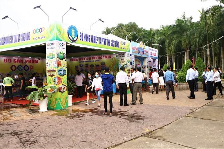 Daerah Dataran Rendah Sungai Mekong Tingkatkan Pembinaan Brand OCOP - ảnh 2