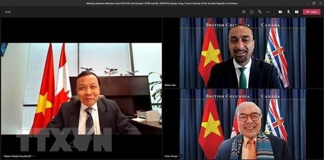 Mendorong Kerja Sama Ekonomi antara Berbagai Daerah Kanada dan Vietnam - ảnh 1