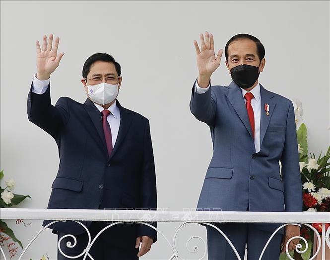 Pers Indonesia dan Kamboja Tonjolkan Hubungan Bilateral yang Erat dengan Vietnam - ảnh 1