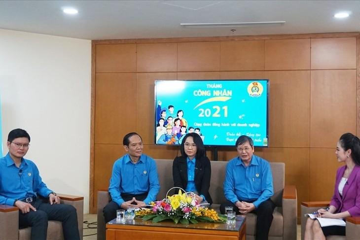Para Buruh dan Pekerja Vietnam yang Penuh Bersatu, Kreatif, dan Berkembang - ảnh 1