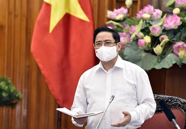 PM Pham Minh Chinh Berkontak dengan Para Pemilih Kota Can Tho - ảnh 1