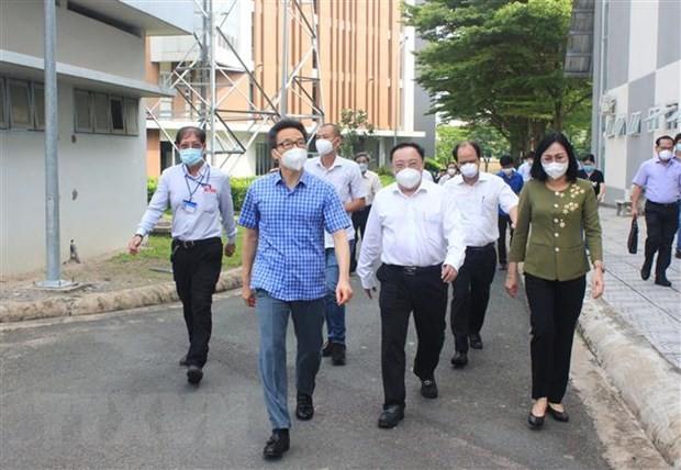 Provinsi Dong Nai Harus dengan Serius Laksanakan Jarak Sosial untuk Cegah Wabah  - ảnh 1