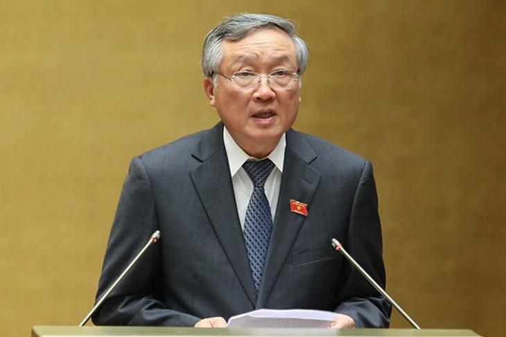 Nguyen Hoa Binh Terpilih Memegang Jabatan Kepala Mahkamah Rakyat Agung - ảnh 1