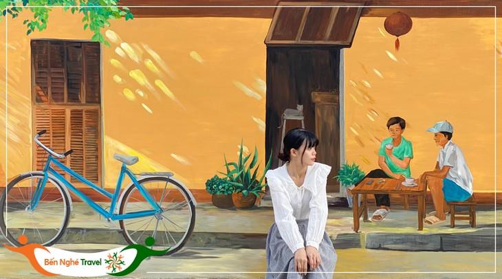 Perkenalan Sepintas tentang Kabin yang Membawa Pasien Covid-19 dan Desa Mural Hon Thien - ảnh 2