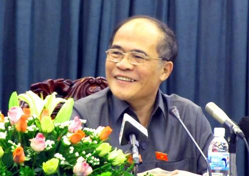 Parlamentspräsident Hung tagt mit Vertretern der Staatsanwaltschaft - ảnh 1