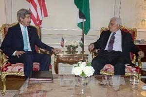 Palästina lehnt Vorschlag der USA im Hinblick auf Friedensverhandlungen mit Israel ab - ảnh 1