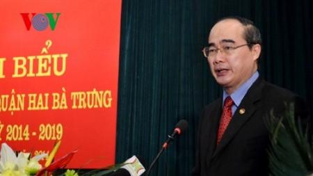 Hanoi konzentriert sich auf die Förderung des Zusammenhalts zwischen den Bürgern - ảnh 1