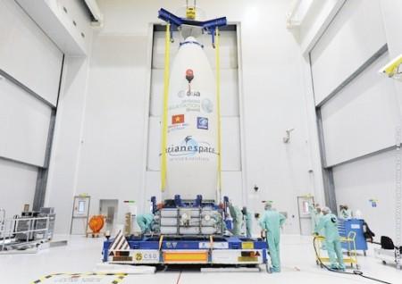 Vietnam wird im Jahr 2019 zwei neue Satelliten ins All schicken - ảnh 1