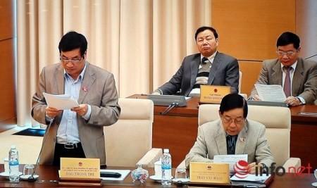 Ständiger Parlamentsausschuss diskutiert den Pressegesetzesentwurf  - ảnh 1
