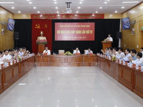 4. Konferenz der Parteigruppe der Behörden auf Staatsebene - ảnh 1