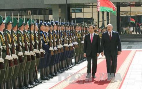 Gemeinsame Erklärung Vietnam –Weißrussland - ảnh 1