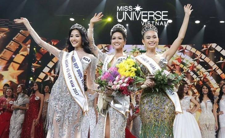 Die Schönheit des Hochlandes aus Tay Nguyen H'Hen Nie wird Miss Universe Vietnam 2017 - ảnh 1