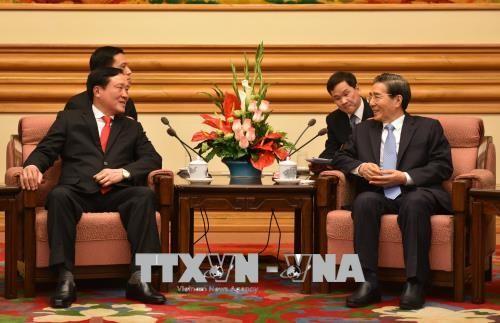 Präsident des Obersten Gerichtshofs Nguyen Hoa Binh besucht China - ảnh 1