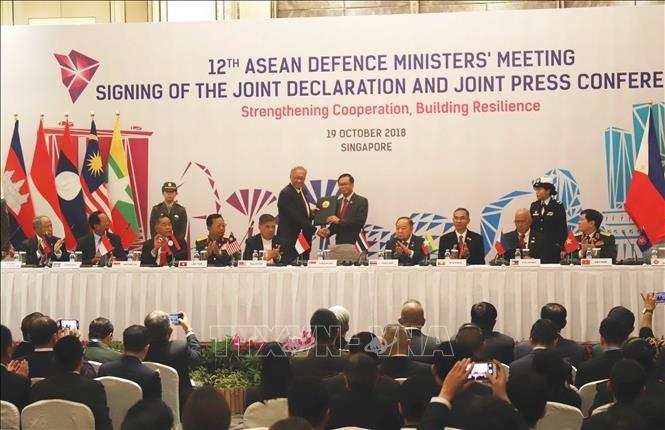 ASEAN errichtet Netzwerk zum Umgehen mit neuen Sicherheitsherausforderungen - ảnh 1