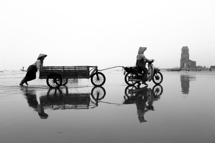 Die Schönheit bei der Arbeit der vietnamesischen Frauen - ảnh 6