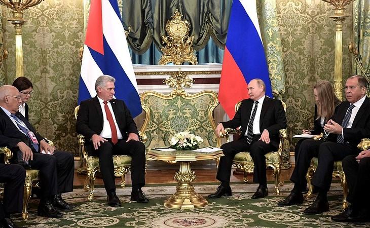 Russland und Kuba bekräftigen ihre strategische Allianzbeziehung - ảnh 1