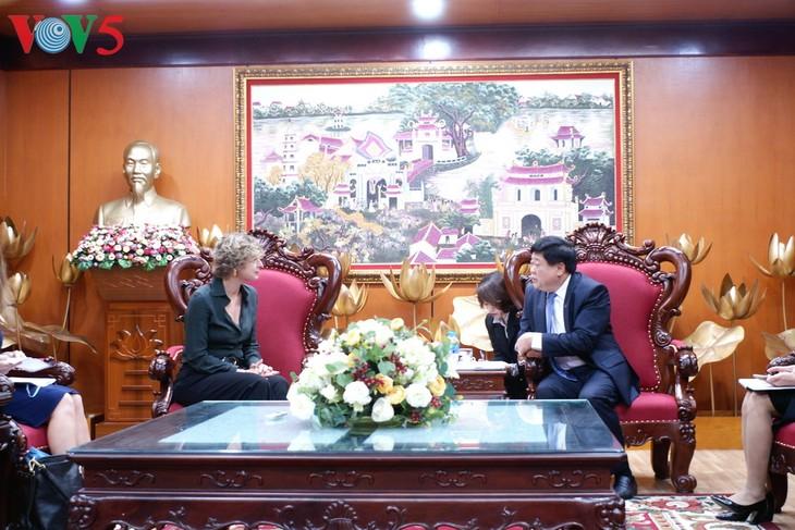 Presse-Zusammenarbeit zwischen Vietnam und den Niederlanden verstärken - ảnh 1