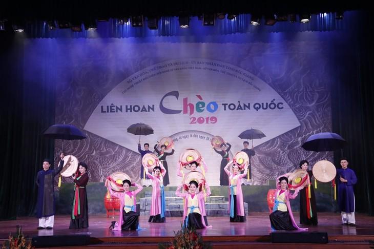 Abschluss des landesweiten Festivals des Cheo-Gesangs 2019 - ảnh 1
