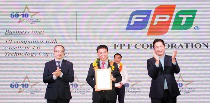 FPT ist eines der zehn Unternehmen mit der technologischen Fähigkeit, die den Standard 4.0 erreicht - ảnh 1