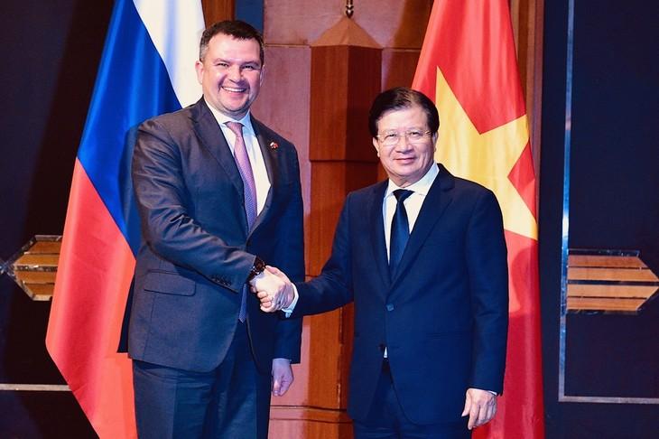 Vietnam und Russland verstärken die Wirtschaftszusammenarbeit - ảnh 1