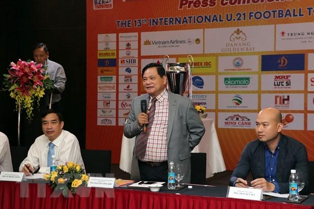 Vier Teams nehmen an dem internationalen U21-Fußballturnier im vietnamesischen Da Nang teil - ảnh 1