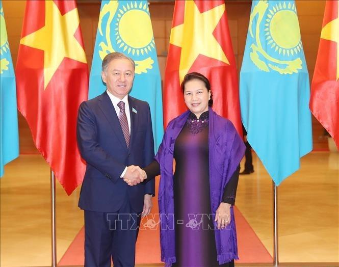 Vietnam – Kasachstan: Weiterhin eng auf den regionalen und internationalen Foren zusammenarbeiten - ảnh 1