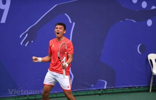 Südostasien-Spiele: Zwei Vietnamesen spiele um die historische Goldmedaille im Tennis - ảnh 1