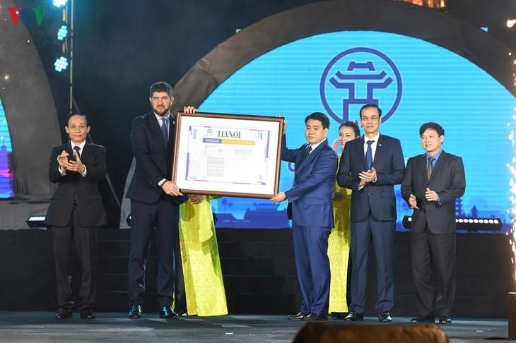 Hanoi tritt dem Netzwerk der UNESCO-Kreativstädte bei - ảnh 1