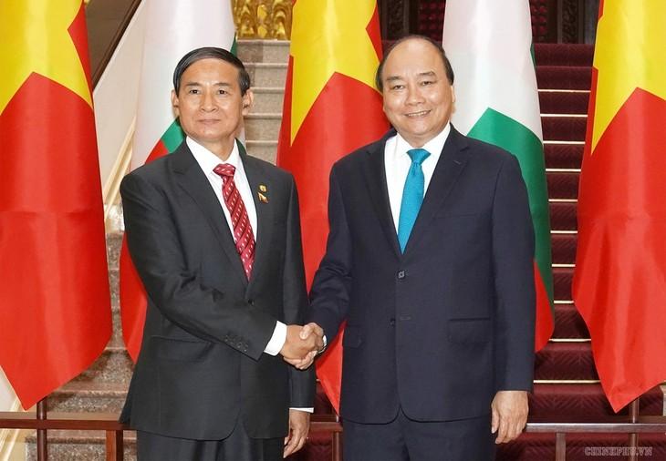 Die umfassende Partnerschaft zwischen Vietnam und Myanmar nachhaltig zu entwickeln - ảnh 1