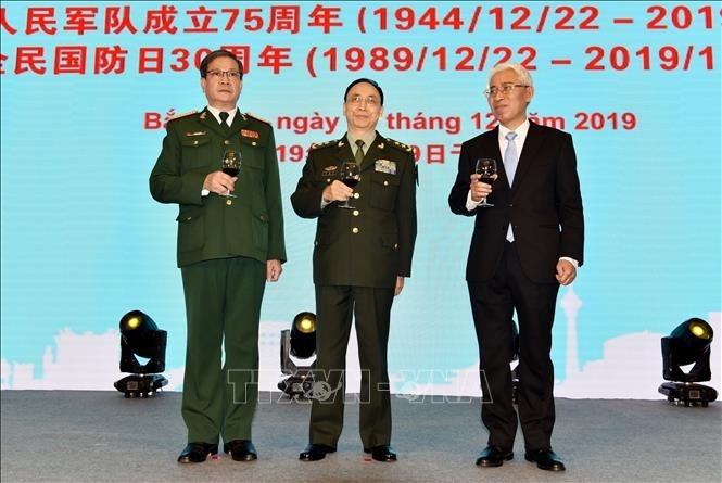 Feier in China zum Gründungstag der vietnamesischen Volksarmee  - ảnh 1