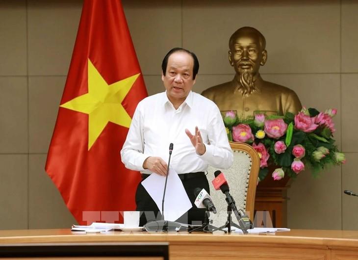 Minister Mai Tien Dung: Räumliche Distanzierung bedeutet nicht, das Land zu blockieren - ảnh 1