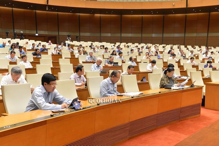 Am Rande der Parlamentssitzung: Vorbereitung des besten Szenarios für Zeiten nach der Covid-19-Epidemie - ảnh 1