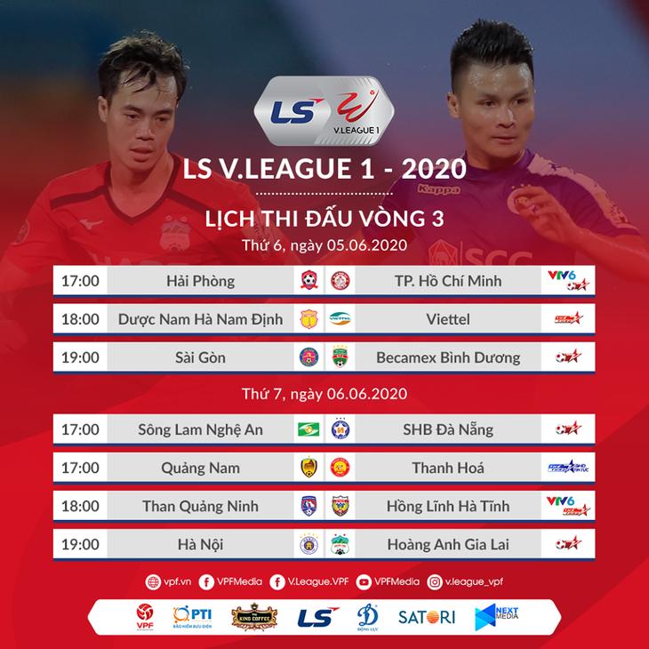 3. Runde von V. League 2020: Rennen zwischen den Spitzenteams - ảnh 1