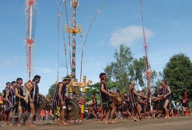 Dak Lak stellt Gong-Kultur in Hanoi und Ho-Chi-Minh-Stadt vor - ảnh 1