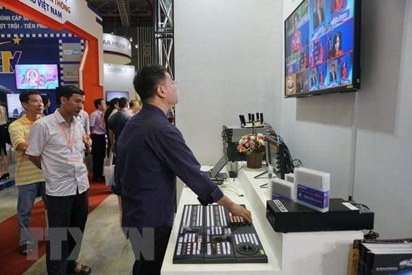 Internationale Ausstellung für Film und Fernsehtechnik in Ho-Chi-Minh-Stadt - ảnh 1