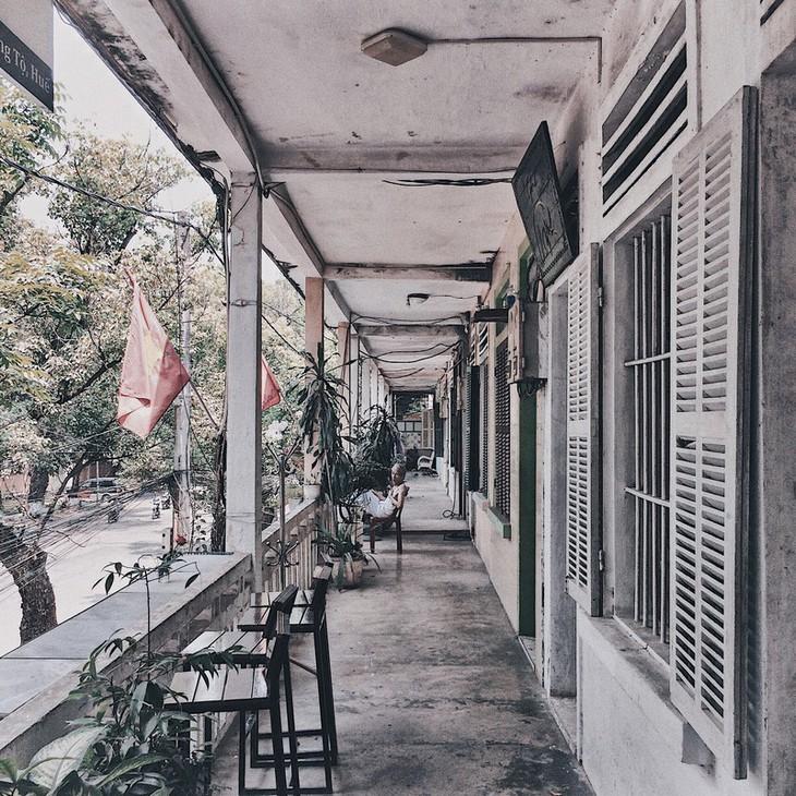 Die friedliche und alte Schönheit der Kaiserstadt Hue - ảnh 22