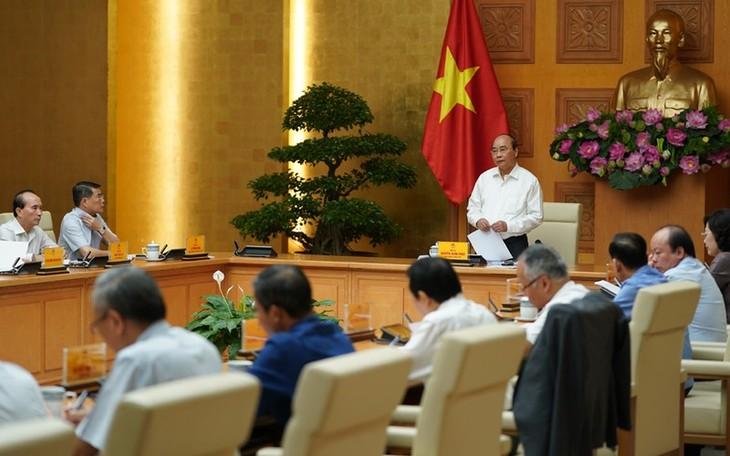 Premierminister Nguyen Xuan Phuc tagt mit Leitern der Provinz Ben Tre - ảnh 1