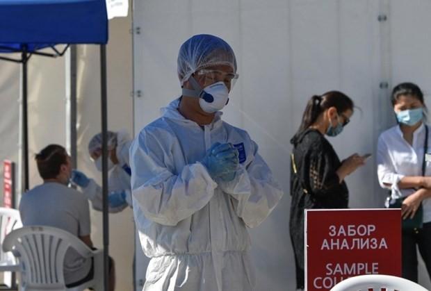 Kasachstan erhält die von Vietnam unterstützten medizinischen Ausrüstungen zur Bekämpfung der Covid-19-Epidemie - ảnh 1